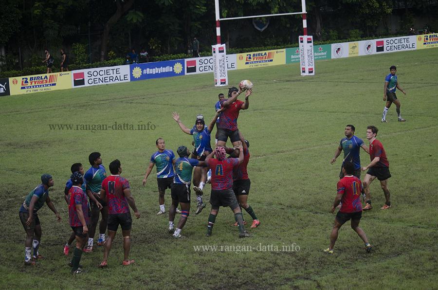 Kolkata Police vs Delhi Hurricanes, 83rd National and South Asia Rugby Tournament, CCFC, Kolkata