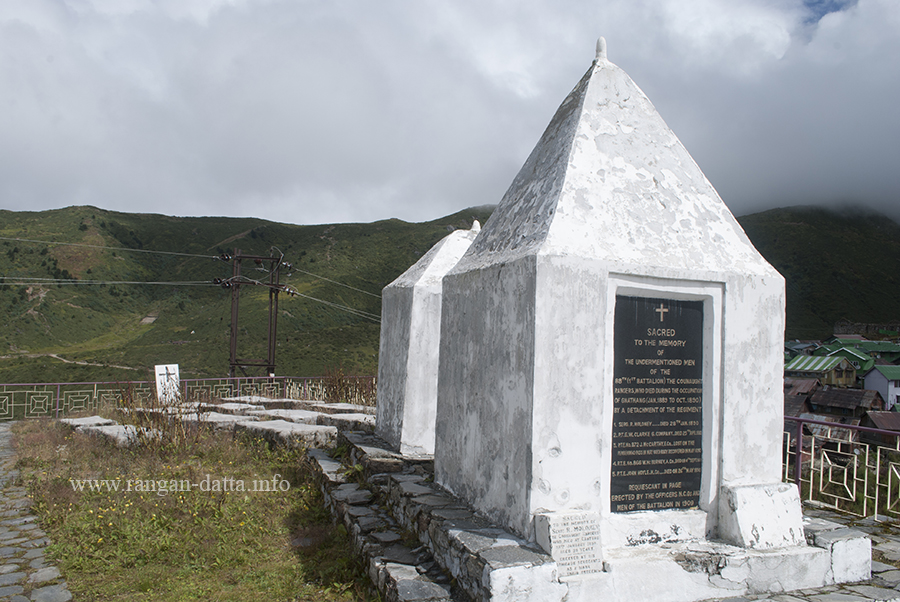 British War Memorial, Nathang (Gnathang), Sikkim Silk Route, East Sikkim