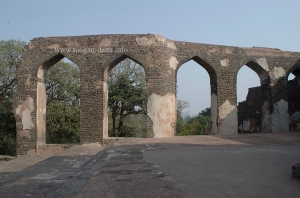 Elevated Aqueduct, Baz Bahadur's Palace, Mandu