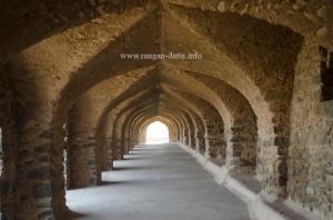 Arches of Roopmati's Pavilion, Mandu