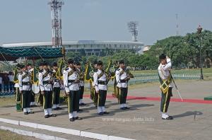 Remembrance Sunday, Army Band, Glorious Dead Cenotaph, Kolkata