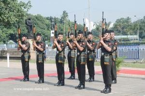 Remembrance Sunday, Gun Salute, Glorious Dead Cenetaph, Kolkata