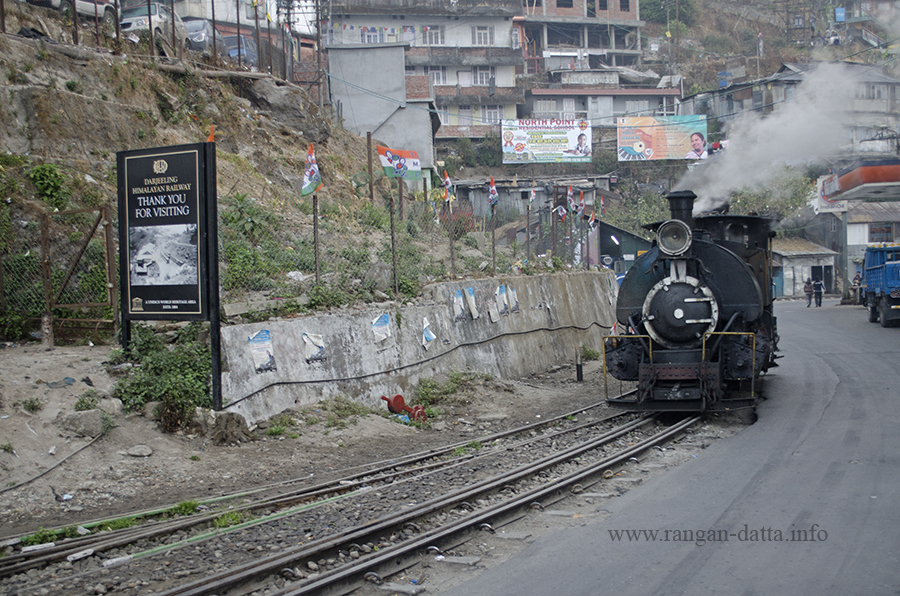 A Darjeeling Himalayan Railway (DHR) Toy Train Steam Engine, Kurseong