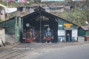 Steam Locomotives of DHR Toy Train at Kurseong Car Shed