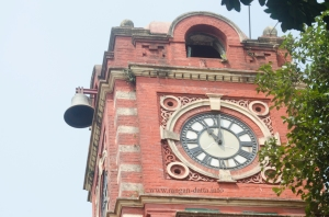 The Clock and Bell of Kolkata Port Trust (KoPT) Claock Tower