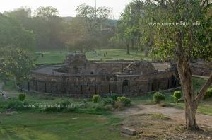 Circular Baoli (Stepwell) at Feroz Shah Kotla