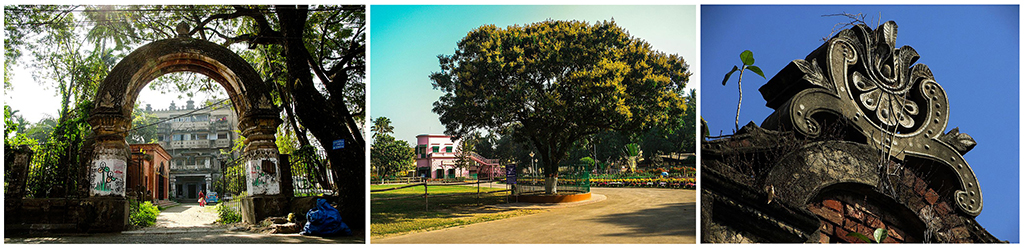 Winning Photos. L Santanu Pyne (first) C: Probuddho Ganguly (second) R: Rounik Ghosh (third)