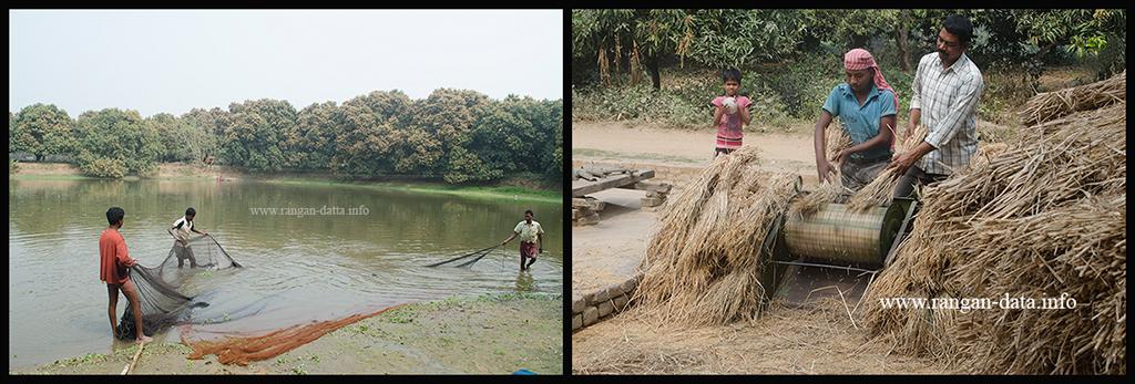 Village Scenes, Amadpur Heritage Walk, Amadpur, Memari, Bardhaman