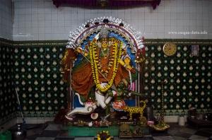 Idol of Devi Chitteswari, Adi Chitteswari Temple, Chitpur