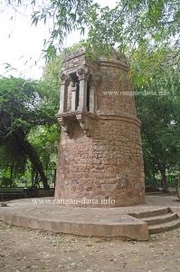 Lodi Period Turret, Lodi Garden