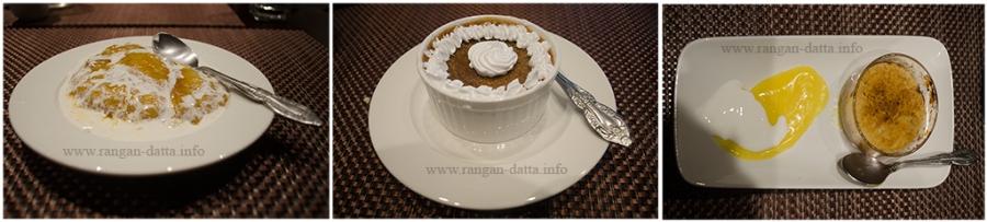 Margaret's Deck Desserts