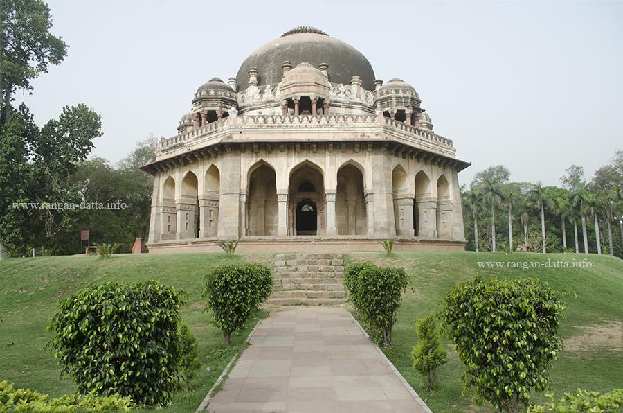 Muhammad Shah's Tomb, Lodi Garden, Delhi