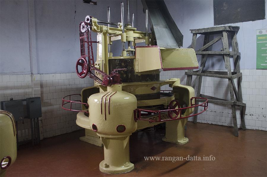 Rolling Machine, Margaret's Hope Tea Factory