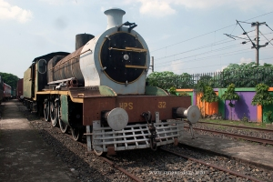 A Pakistani Steam Locomotive