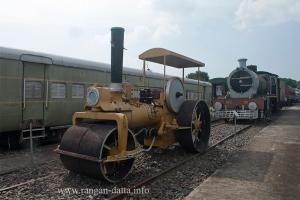 Steam Road Roller, Rail Museum, Howrah