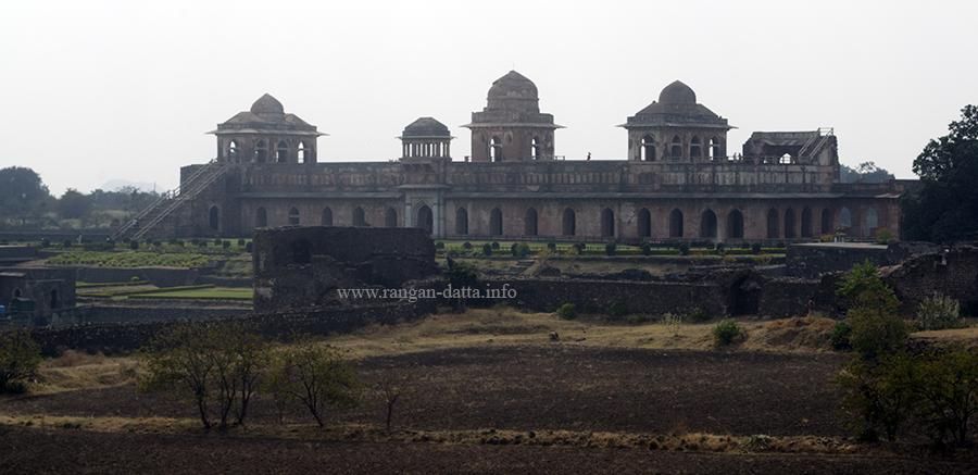 Jahaz Mahal, from Gada Shah's Shop, Mandu, Madhya Pradesh (MP)