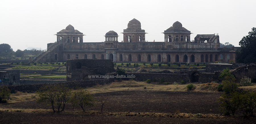 Jahaz Mahal, from Gada Shah's Shop, Mandu, Madhya Pradesh (MP)