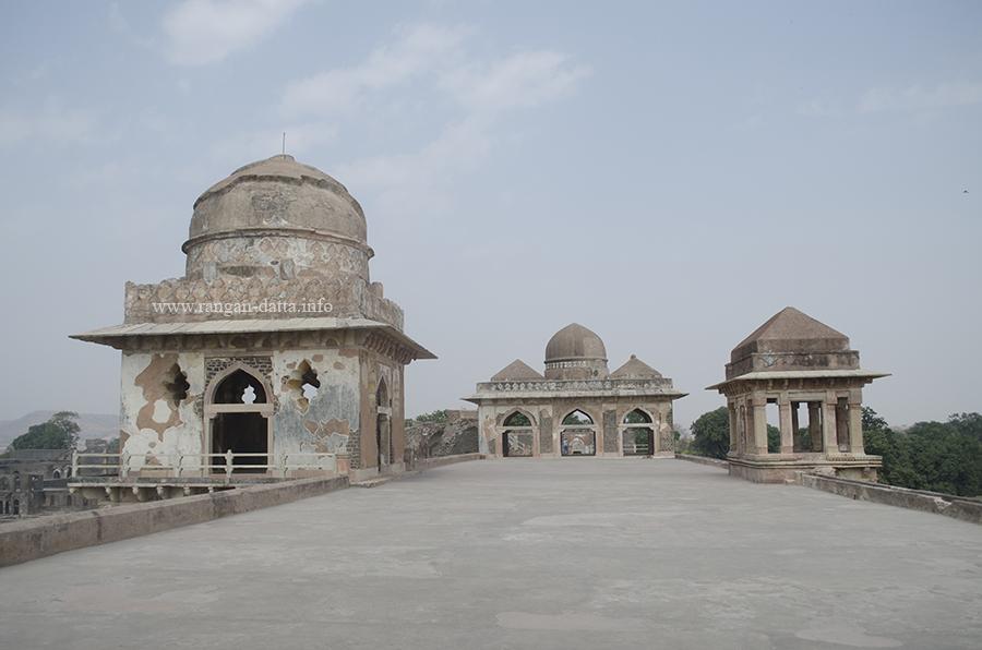 Terrace Pavilions, Jahaz Mahal, Mandu, Madhya Pradesh (MP)