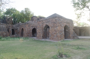 Ruined structures of Feroz Shah Kotla, Delhi