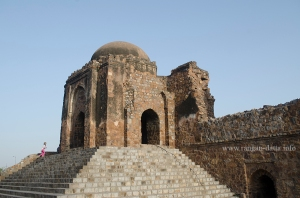 Domed Pavilion at the entrance of Jami Masjid