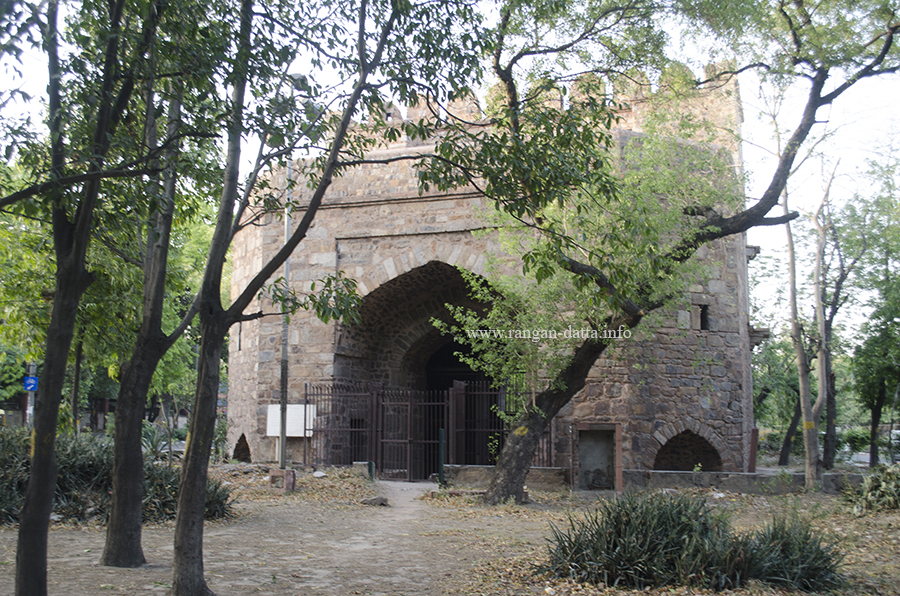 Khooni Darwaza, from another side