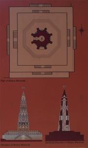 Plan of Mutiny Memorial (Source: ASI)