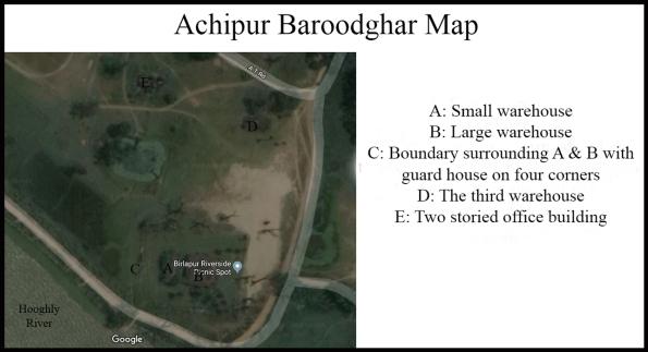 Barood Ghar Map