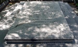 Epitaph of John Nicholson grave