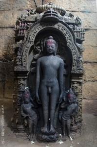Tirthankara Statue. inside main Deul of Deuli