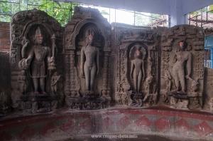 Statues at Suisa museum