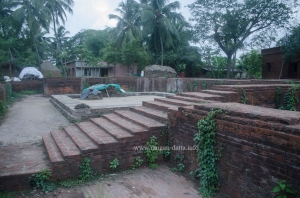 Flight of stairs, Kuruma Buddhist Site, Odisha