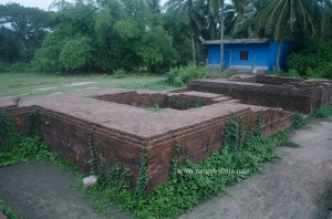 Remains of a cell, Kuruma, Odisha