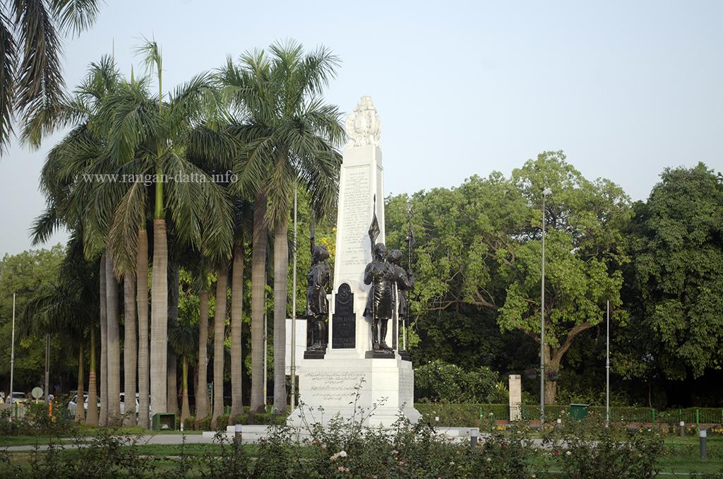 Teen Murti Memorial, Teen Murti Chowk, Delhi