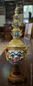 A demon Khon Mask