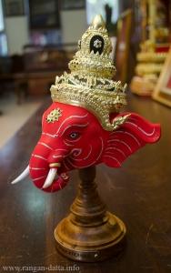 Phra Phikanet(Lord Ganesha) Khom Mask