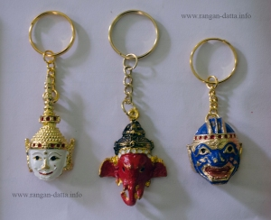Khon Mask key chains