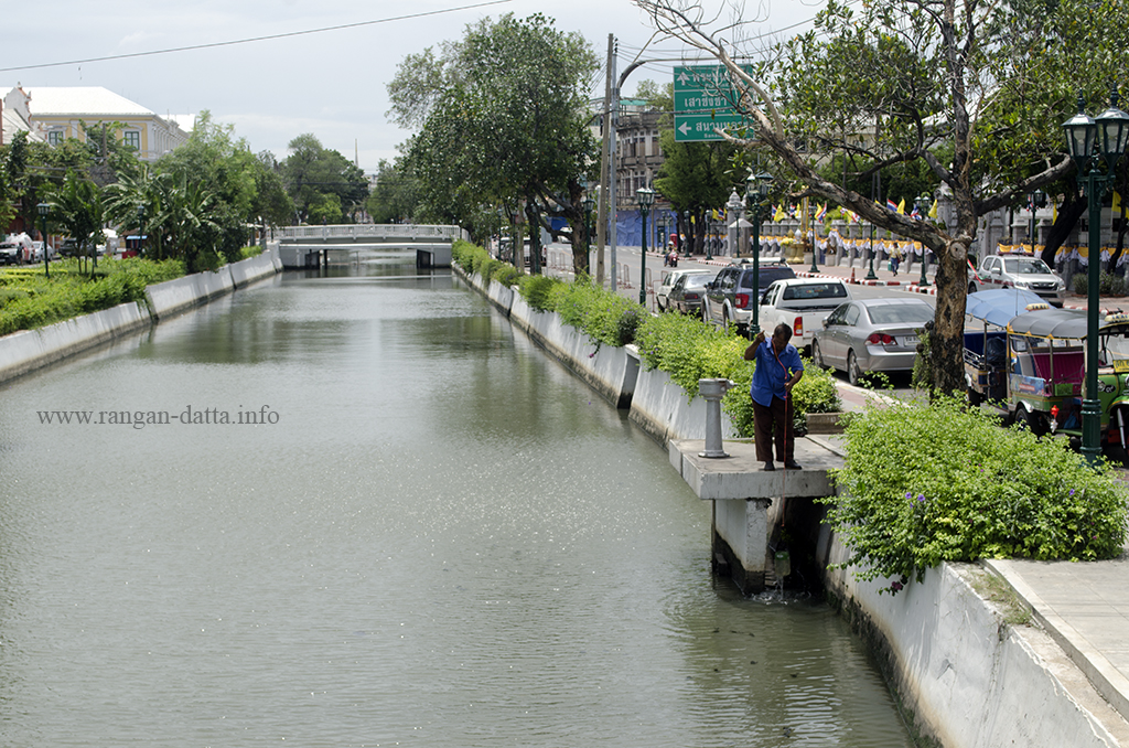 Old City Moat, from Pa Kun Bridge, Bangkok