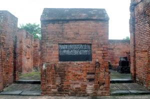 Foundation plaque Sayed Jamaluddin Mosque