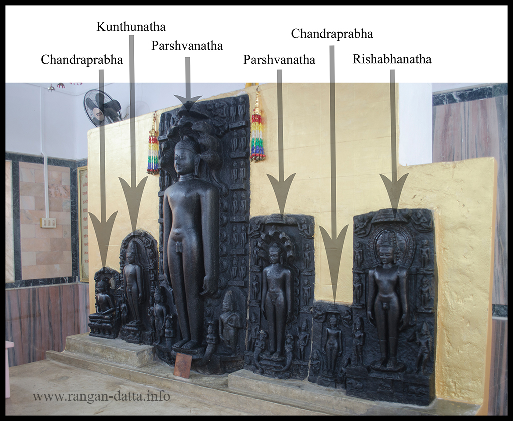 Jain Tirthanakara Statues at Mahadeb Berya (Jambad), Purulia District