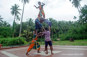 Gotipua Dance practice session at Raghurajpur