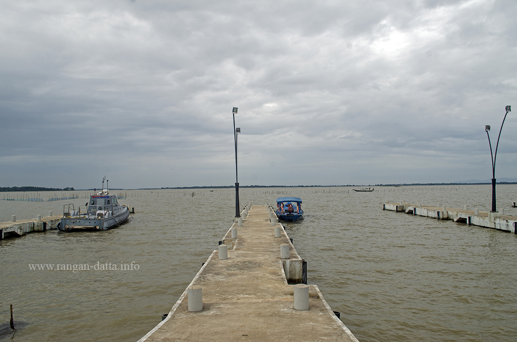The Satapada Jetty, Chilika Lake, Odisha