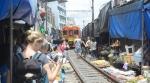 Maeklong Rail Market