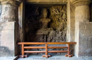 Yogishvara Shiva, Elephanta Caves