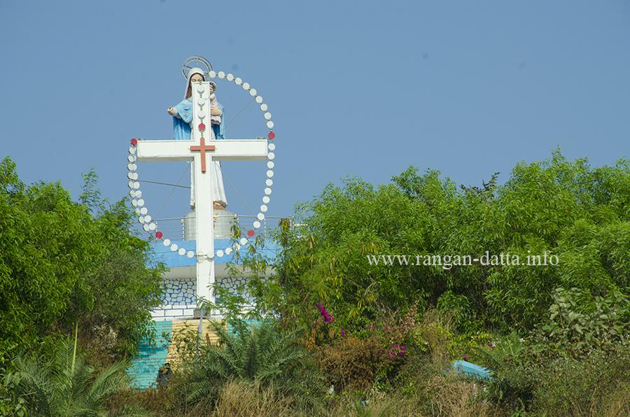 East Indian Christian shrine at Utan