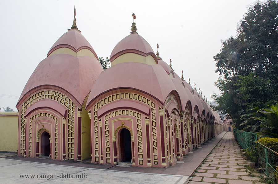 108 Siva Temple Complex of Nababhat, Bardhaman