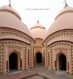 Octagonal corner temple, 108 Shiva Temple Complex, Nababhat, Bardhaman