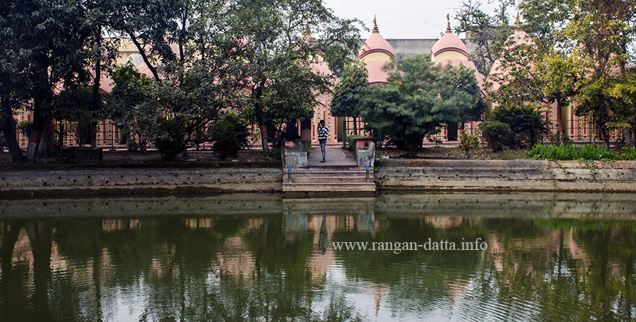 Pond with 108 Shiva Temple Complex, Nababhat, Bardhaman