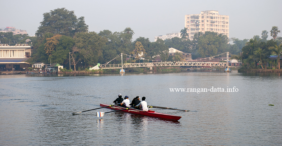 Rowing at Rabindra Sarobar