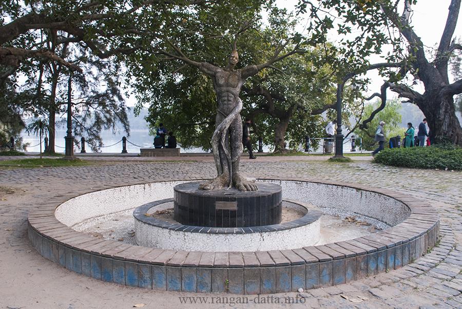 Tree Sculpture, Rabindra Sarobar