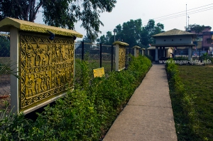 Inside Dokra Crafts Centre, Dariyapur